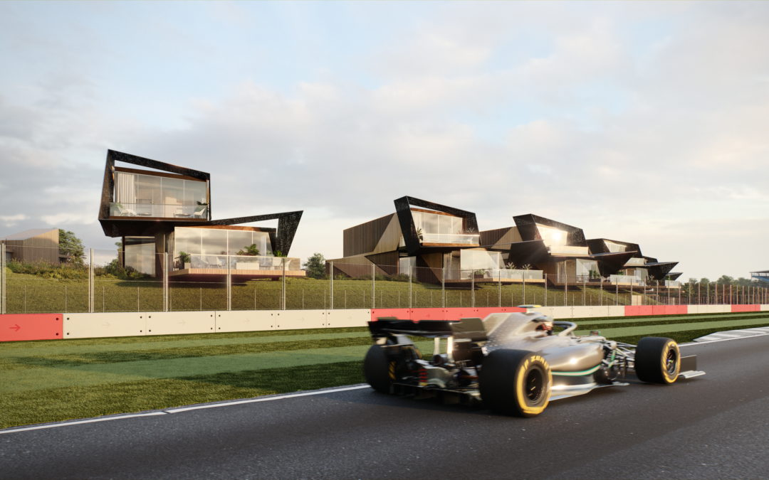 Escapade Living partners The Race to showcase its flagship development at Silverstone