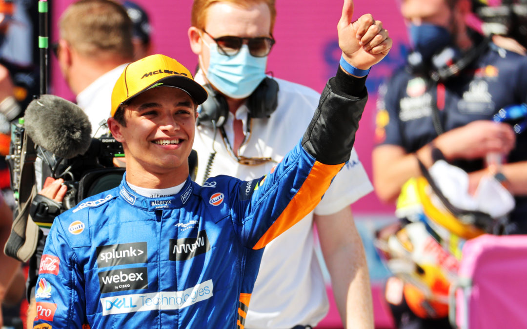 Lando Norris is the fan favourite for the Drive to Survive generation